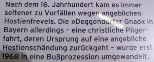 Deggendorfs unrühmliche Vergangenheit