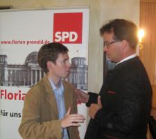 Dull Manuel und MdB Florian Pronold