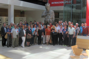 Unsere Gruppe im Willy-Brandt-Haus