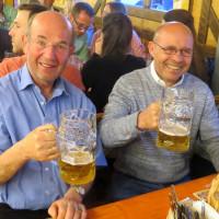 Karl Heinz Stallinger und Harry Schiller beim Frühlingsfest 2016