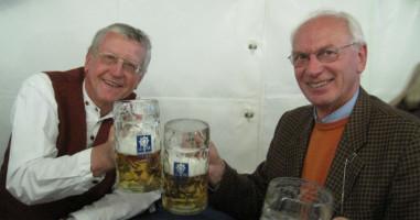 Prost Ambros und Wolfgang!