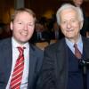 Christian Flisek mit Richard von Weizsäcker