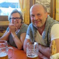 Josefine und Konrad Rankl beim Frühlingsfest 2016