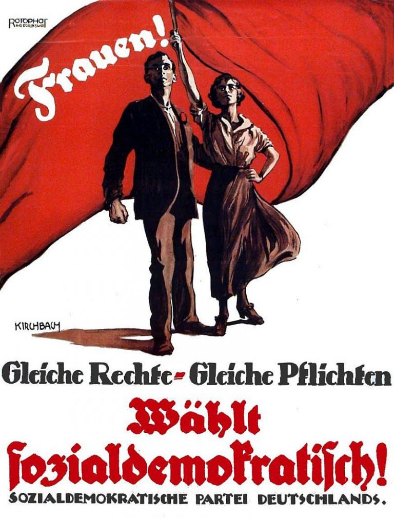 SPD-Plakat (Frauen 1919)