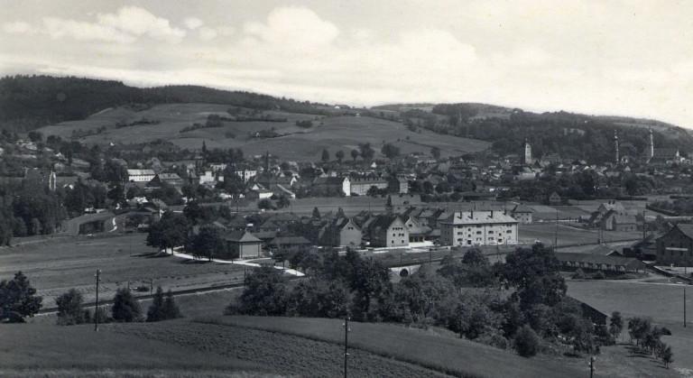 Hier entstand später das Schulzentrum Deggendorf