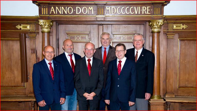 Die SPD-Stadtratsfraktion im Alten Rathaus (Bild 2)